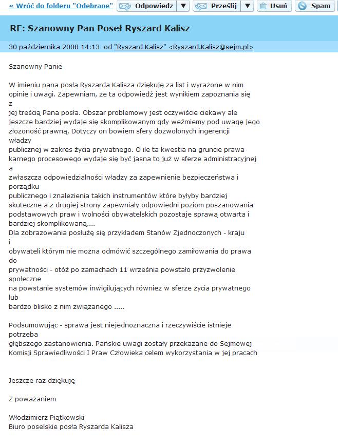 SPAMryszardKalisz01008