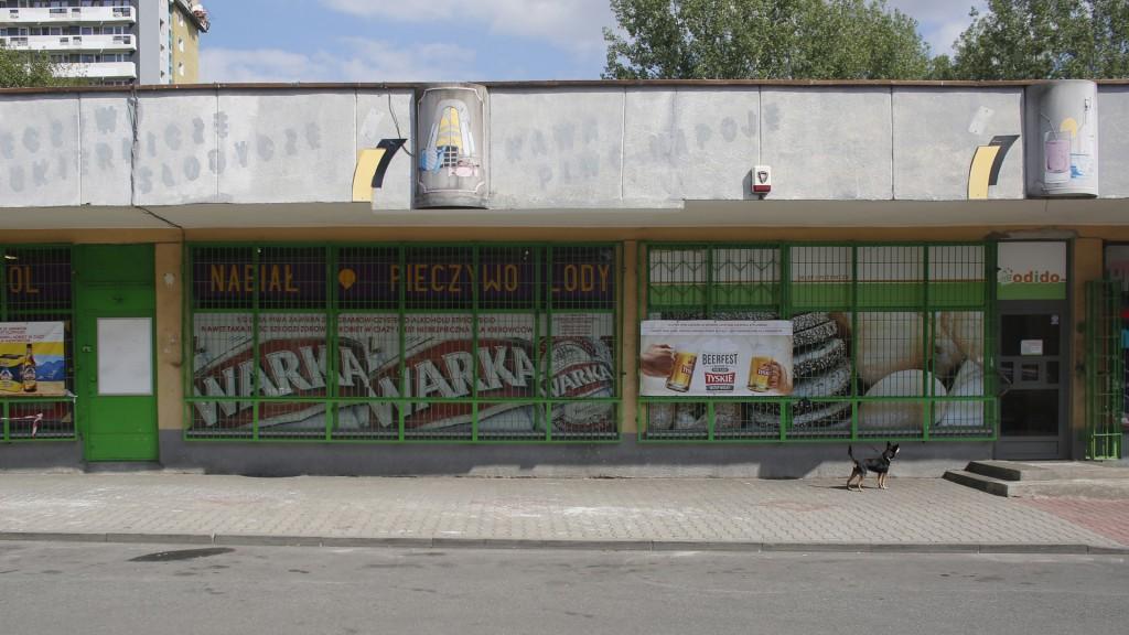 Sklep, ul. Tysiąclecia 82, Tysiąc (fot/ Davido)
