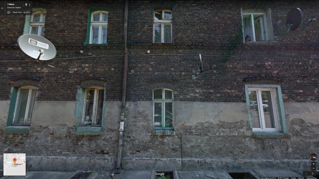 ul. Górna 7 (Google Street View)