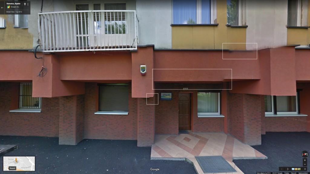 ul. Sowińskiego 33 (Google Street View)