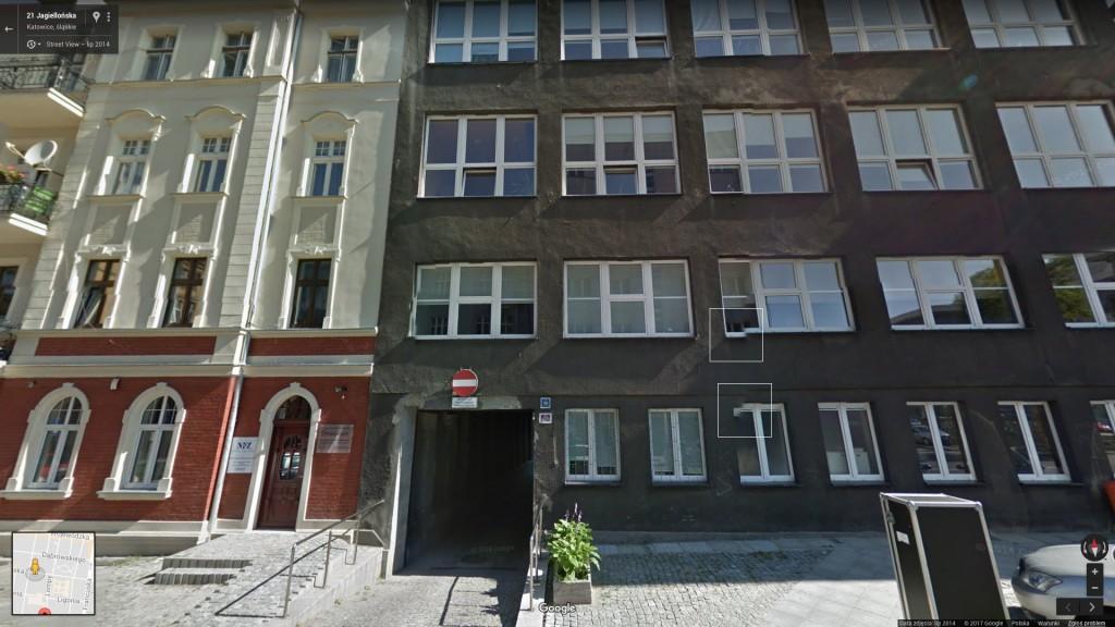 ul. Jagiellońska 26 (Google Street View)